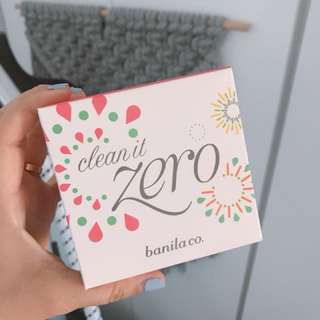 Banila Co clean it zero make up remover balm