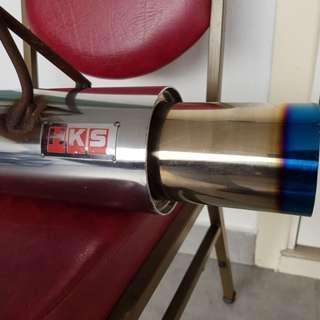 HKS Titanium Muffler