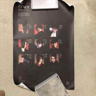 "EXO ""EX'ACT"" Poster"