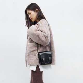 韓版方形側背包