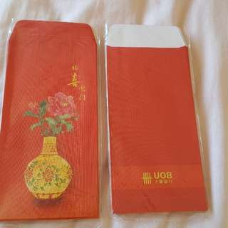 UOB Red Packets hongbao angpow 168 pieces