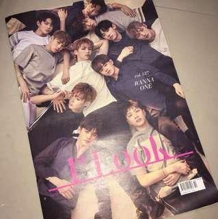1st Look Vol.137 Wanna One 雜誌