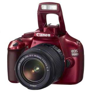 Red Canon 1100D DSLR