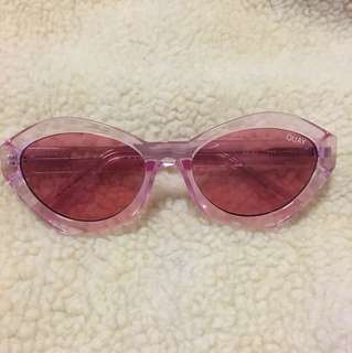 Quay x Kylie As If! Sunglasses in Pink