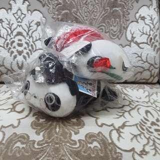 Panda bears (soft toys)