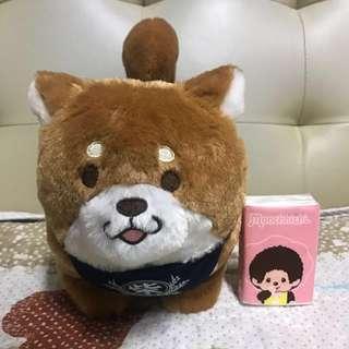 🆕 日本直送 全新 好可愛 啡色電動柴犬 一隻