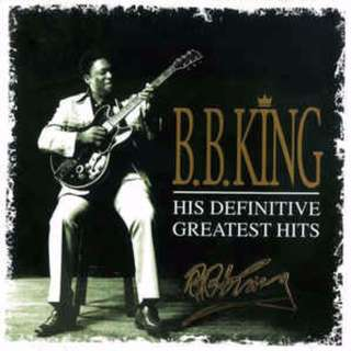 B.B. King His Definitive Greatest Hits printed autographed cd