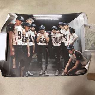 "EXO ""Love Me Right"" Poster"