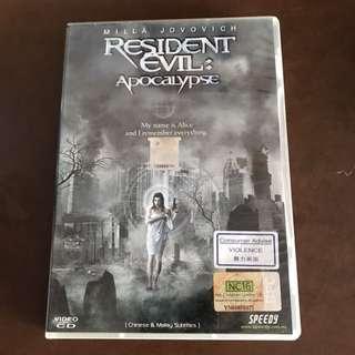 VCD-RESIDENT EVIL