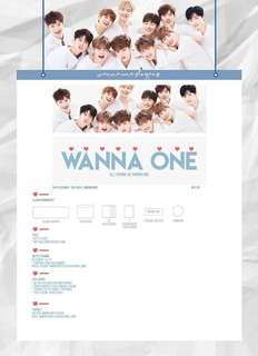 [READYSTOCK] WANNA ONE GROUP SLOGAN