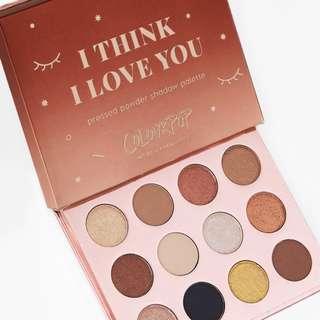 """(全新正貨) 美國 Colourpop """"I Think I Love You"""" Pressed Powder Shadow Palette Colorpop colour pop"""