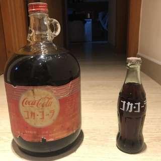 可口可樂50年代糖漿樽