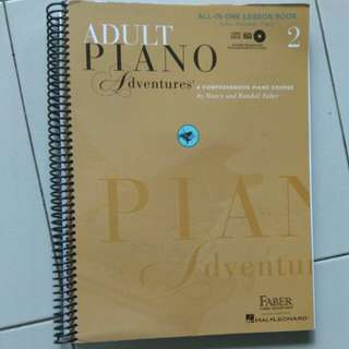 Adult piano adventures all-in-one lesson book 2 with CDs