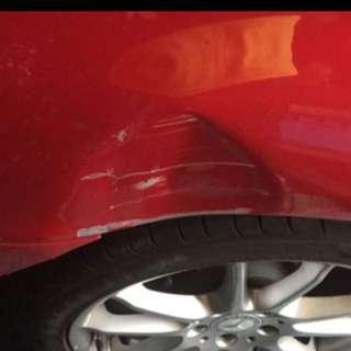 Repair car dents by professional
