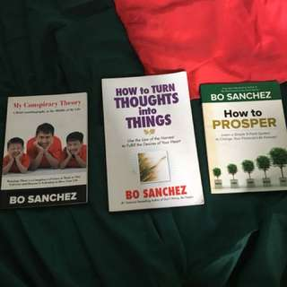 Bo Sanchez Books- How to Turn Thoughts into Things