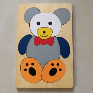 Wooden Bear Puzzle