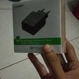 Ugreen Qualcomm quick charger 2.0 baru dijual