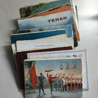 Selling antique China postcards from pre-revolution days (1960-1970)