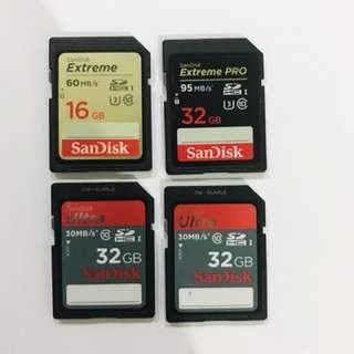 SanDisk SD Cards