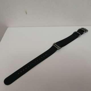 Nato 錶帶 20mm 黑色