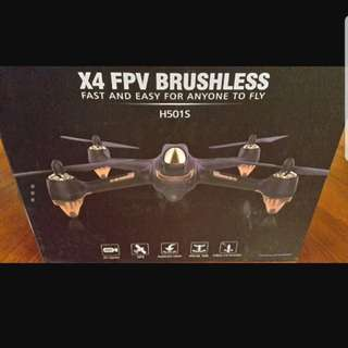Hubsan H501S X4 FPV Brushless Quadcopter (drone)