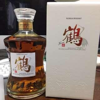 鶴 whisky (日本余市購買)