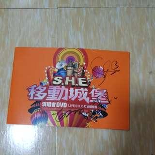 S.h.e autograph booklet