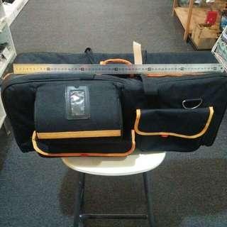 Padded lightstand bag