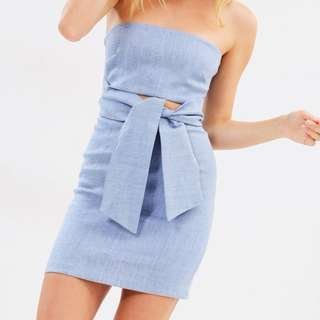"Bec and Bridge ""wilda strapless dress"""