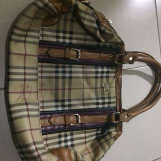 burberry authentic bag