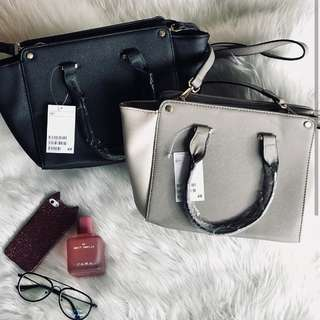 H&M SATCHEL BAG