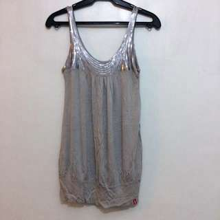 EDC by Espirit sequined slouchy tank