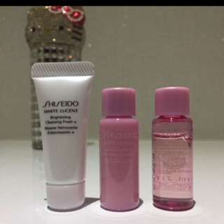 🚚 Shiseido White Translucent Set