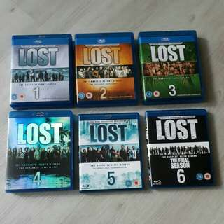<SOLD> $45 for Lost Complete Season 1 to 6 Blu Ray TV Series