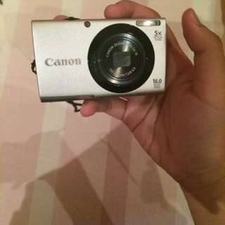 Camera Canon Series A3400IS