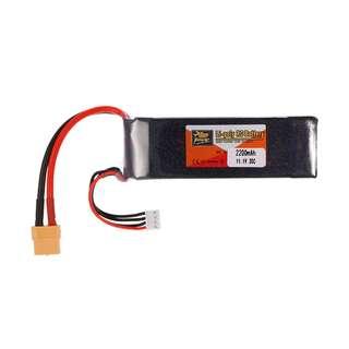 batre lipo zop power 3s 11.1v 2200 mah high quality