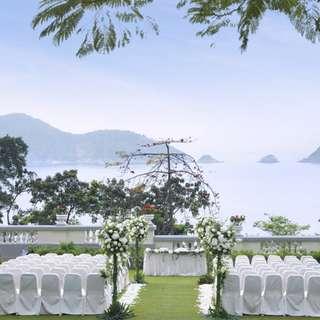 **URGENT SALE - 50% OFF** Wedding Venue: Repulse Bay, Verandah + Front Lawn