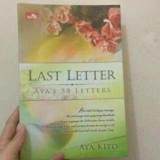 Buku LAST LETTER AYA KITO