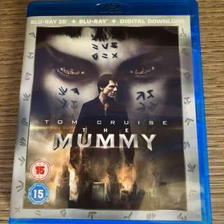 Imported 3D blu ray plus normal blu ray of The Mummy