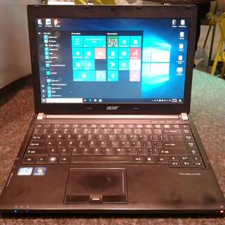 Acer travelmate slim laptop core i5 3rd gen