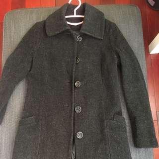 🚚 專櫃正品一折~純羊毛時尚大衣