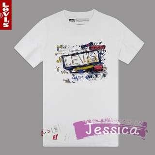 【Jessica】美國代購 2016 新款 正品 levis 短袖 服飾 專櫃真品 純綿 時尚潮流 型男必買 四季可穿