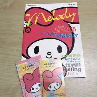 My Melody phone card (used)