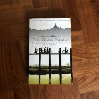 The glass castle by Amitav Ghosh