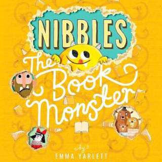 📚 Nibble the Book Monster (By Emma Yarlett)
