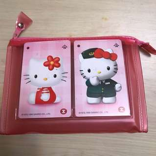 Hello Kitty MTR Ticket 1999
