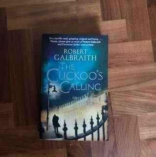The cuckoo's calling by Robert Galbraith ( Jk Rowling)