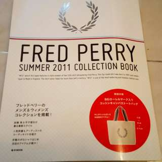 Fred perry summer 2011 collection book 附錄 ToTo Bag