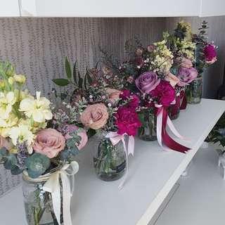 Private floral arrangement workshop