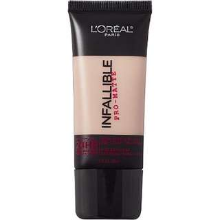 loreal paris infallible foundation shade 104
